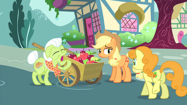 File:Golden Harvest walking towards the apple cart S4E23.png