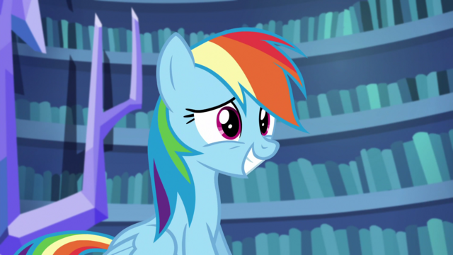 File:Rainbow Dash smiling nervously S5E21.png