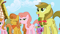 Spike welcoming back Twilight S1E02.png