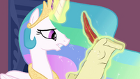 Celestia writes a letter to Twilight S3E01