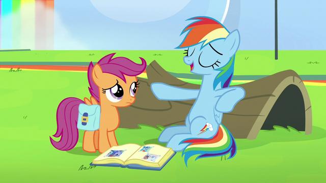 "File:Rainbow Dash ""I can fall asleep anywhere"" S7E7.png"