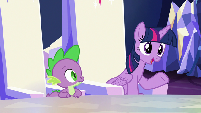 "File:Twilight Sparkle ""might make things easier"" S6E25.png"