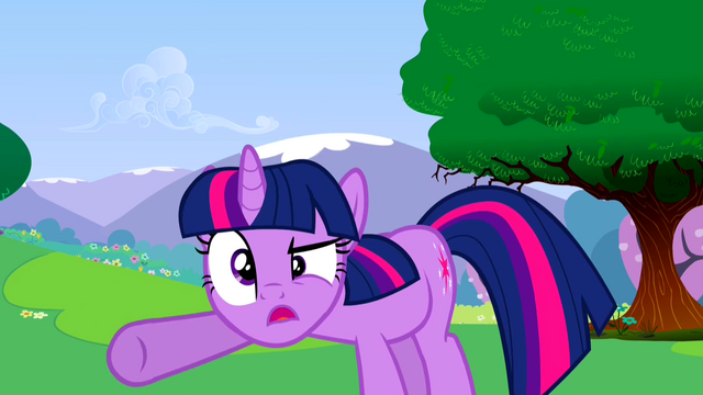 File:Twilight Sparkle acting up 2 S2E25.png