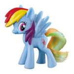 2016 McDonald's Rainbow Dash toy