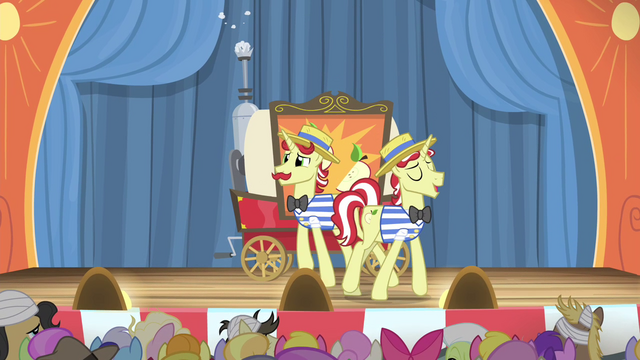 """File:Flim """"A demonstration of a better time!"""" S4E20.png"""