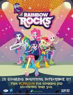 My Little Pony Equestria Girls Rainbow Rocks poster