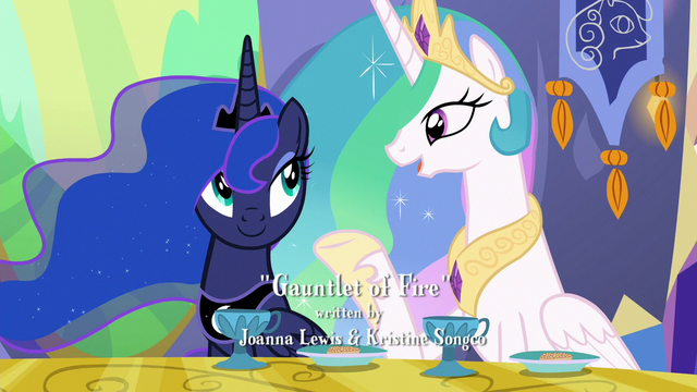"""File:Princess Celestia """"There's usually some crisis we have to deal with"""" S6E5.png"""