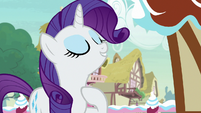 "Rarity ""fashion contest I'm organizing"" S7E9"
