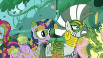 "Twilight ""if there's a chance Chrysalis will honor her word"" S5E26"