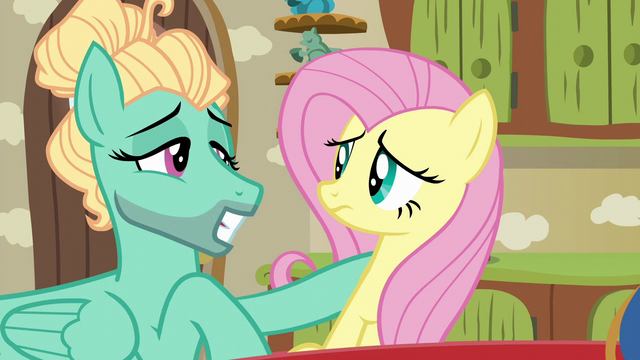 File:Zephyr Breeze batting his eyelashes at Fluttershy S6E11.png