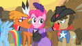 Pinkie Pie mentioning they are all vegetarians S1E21.png