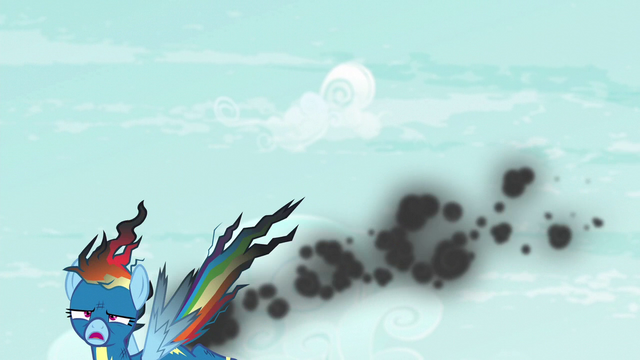 File:Rainbow Dash falls out of the sky S6E7.png