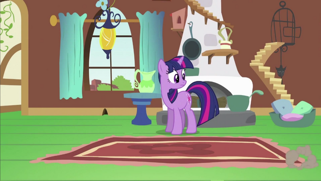 File:Twilight Looking at Fluttershy S2E21.png