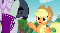 "Applejack ""demandin' all sorts of stuff"" S5E24"