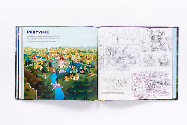 File:Art of Equestria page 42-43 - Ponyville concept art.jpg