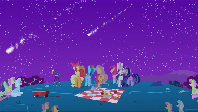 File:Ponies watching the rest of the meteor shower S1E24.png