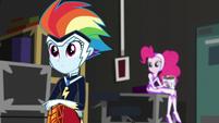 Rainbow and Pinkie Pie listening to Twilight EGS2