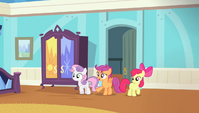 "Scootaloo ""moping in here for almost the entire Games"" S4E24"