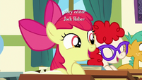 "Apple Bloom ""I'm finally old enough to race!"" S6E14"
