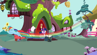 Rainbow flying through S4E21