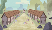 Village's two rows of houses S5E1.png