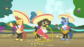 Birthday party mariachi band S4E23.png