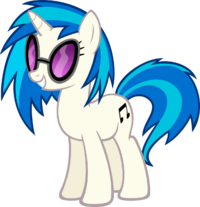 FANMADE DJ Pon-3 by MoongazePonies