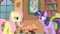Fluttershy and Twilight 3 S01E22