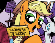 Micro-Series issue 3 Applejack reading