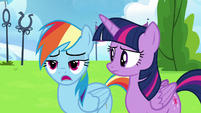 """Rainbow Dash """"yeah, they're still mad"""" S6E24"""
