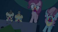 Zombie Pinkie, Mrs. Cake, and Cake twins S6E15