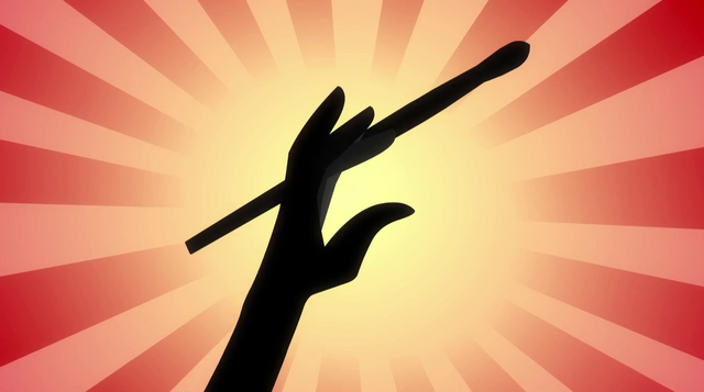 File:Abstract Pinkie Pie hand twirling drumstick EG2.png