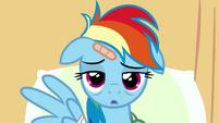 Rainbow Dash empty stare S02E16