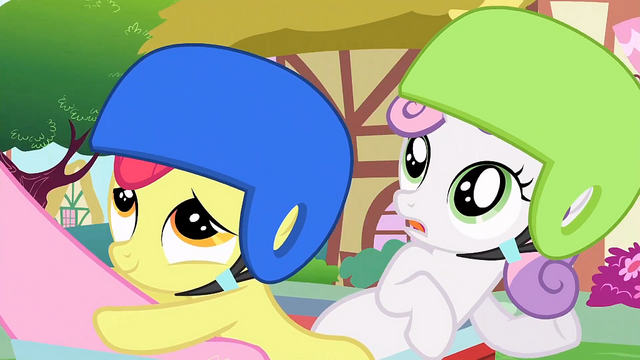 File:Sweetie Belle 'we're sort of looking for Rainbow Dash' S1E23.png