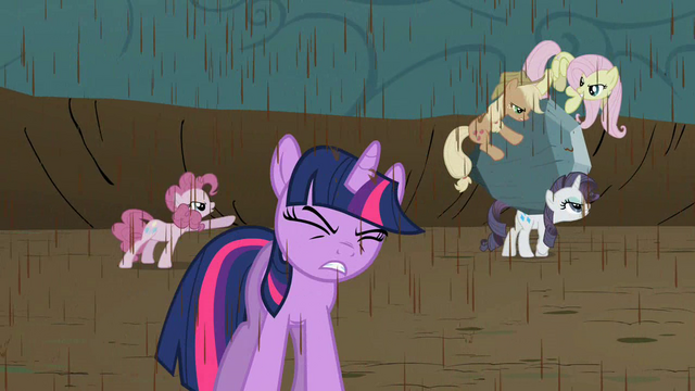 File:Twilight endures bickering while pondering Discord's new riddle S2E02.png