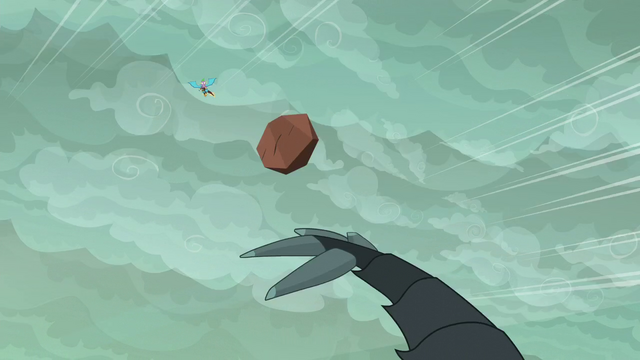 File:Another boulder flies at Spike and Ember S6E5.png
