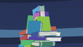 Atop the mountain of books S5E22.png
