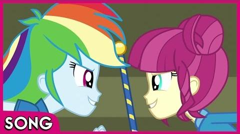 CHS Rally Song - MLP EG - Friendship Games HD