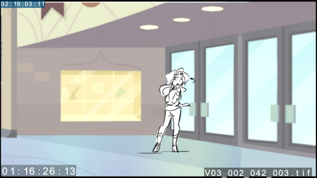 File:EG3 animatic - Sunset stops in front of the school doors.png