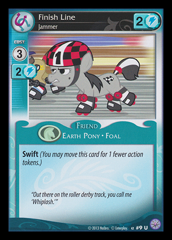 File:Finish Line, Jammer card MLP CCG.jpg