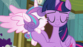 Flurry Heart kisses Twilight on the cheek S7E3.png