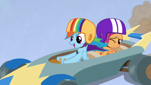 """File:Rainbow singing """"I am the ace"""" S6E14.png"""