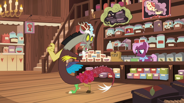 File:Discord with roses on his hip S7E12.png
