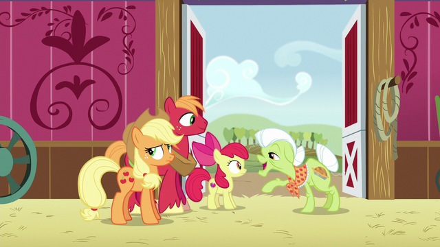 """File:Granny Smith """"your big sister lied so much"""" S6E23.png"""