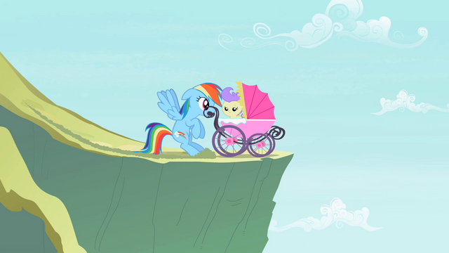 File:Rainbow Dash saves a foal S2E8.png