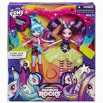 Sonata Dusk and Aria Blaze Rainbow Rocks packaging