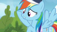 """Rainbow Dash """"her wing was under his"""" S6E24"""