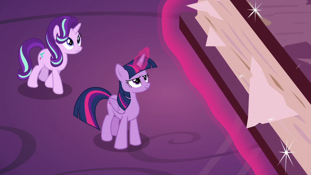 File:Twilight and Starlight look up at friendship journal S7E14.png