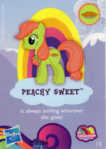 Wave 9 Peachy Sweet collector card