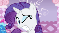 Rarity reacts to door getting closed S4E19